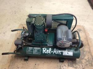 Rol-Air Dual Tank Compressor