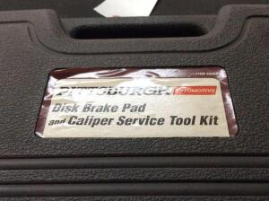 Pittsburgh Disk Brake Pad & Caliper Service Tool Kit
