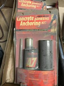 Concrete Adhesive Anchoring Kits