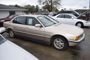 1998 BMW 740IL Passenger Car, VIN # WBAGJ8327WDM16441, Miles: 166,881, Has A Crack In The Radiator & Will Not Crank