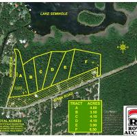 Tract D - 4.10± Acres, Lakefront Tract, Lake Seminole