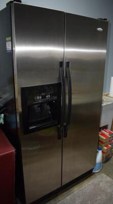 Whirlpool Refrigerator 25 Cubic Foot